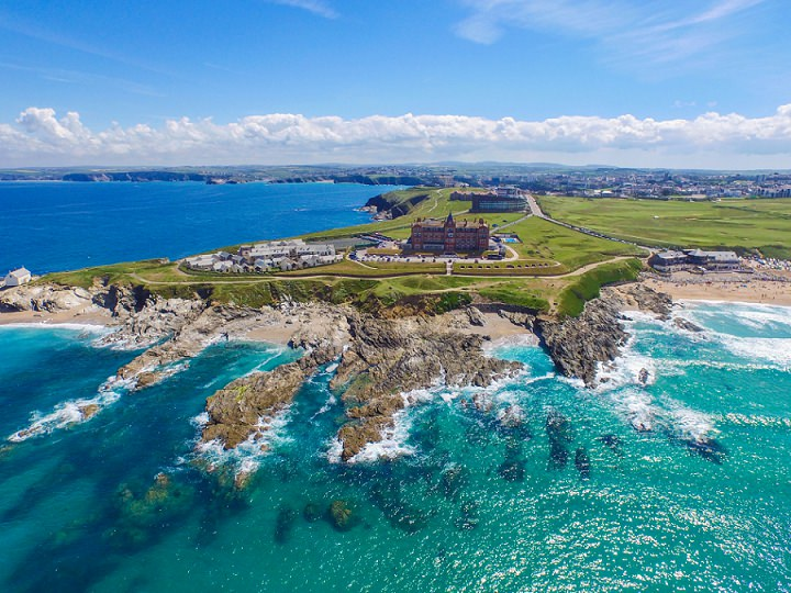 Boho Loves: The Headland Hotel in Newquay Cornwall - A Review of Our Stay