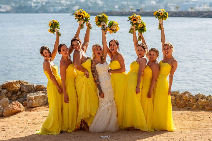 Leah and Sam's Sunny and Bright Ibiza Beach Wedding by Shane Webber