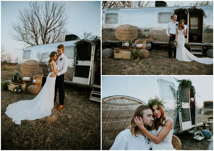 Country Bohemian Meets Oklahoma Wedding Inspiration