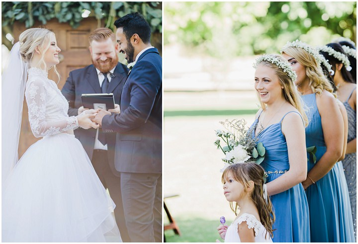 Emma and Zachary Bohemian Rustic Farm Wedding in California by Sarah Seashell Photography