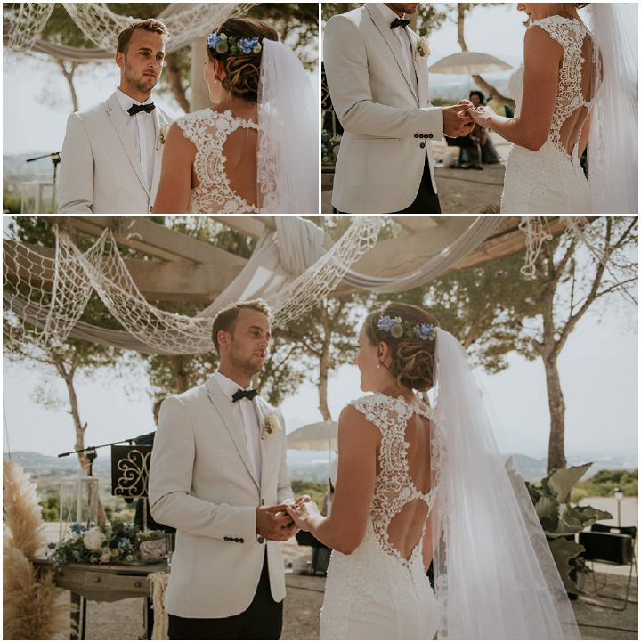 Isabell and Jamie's Stunning Sea Themed Spanish Wedding by El Jardin Del Cabo and Aloha Estudio