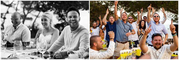 Leah and Sam's Sunny and Bright Ibiza Beach Wedding by Shane Webber