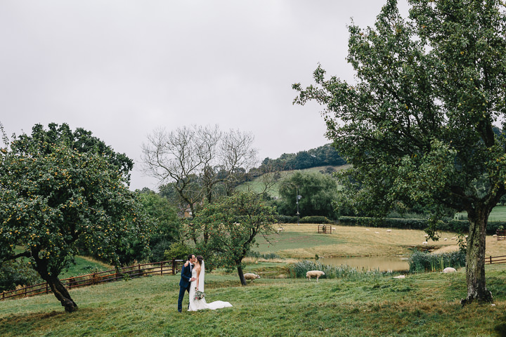 Rainy Day Farm Wedding by How Photography