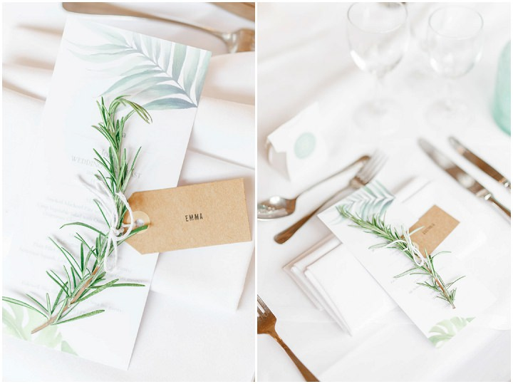 Botanical Themed 'England Meets Portugal' Barn Wedding in the Cotswolds by White Stag Photography
