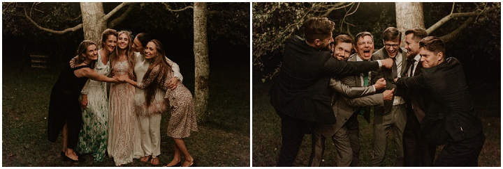 Matīss and Laura's Beautiful Bohemian Barn Wedding in Latvia with by Riverside Films