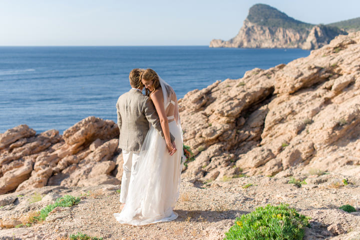 Iris and Frank's Relaxed Ibiza Villa Wedding by Summer Vows Photography