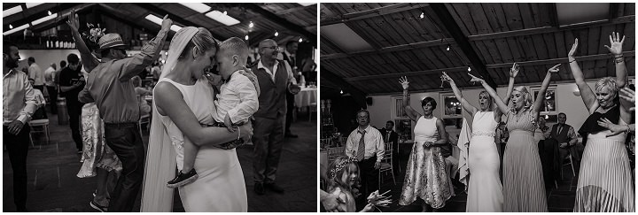 Claire and Daniel's Family Friendly Rustic Barn Wedding in Cheshire by Paul Joseph Photography