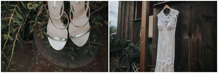 Brittany and Andrew's Boho Farm Wedding in California by Here Today Photo