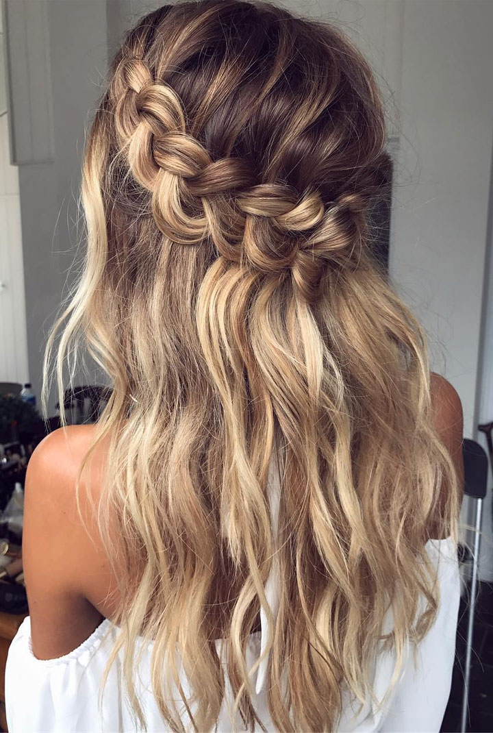 Boho pins top 10 pins of the week boho wedding hair boho of my favourite boho wedding hair ideas from hair up to messy buns hair down curls to sleek locks there is something here for every boho bride junglespirit Gallery