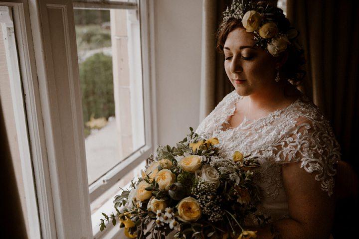 Chloe and Toby's Homespun Scottish Barn Wedding by Light of Wild