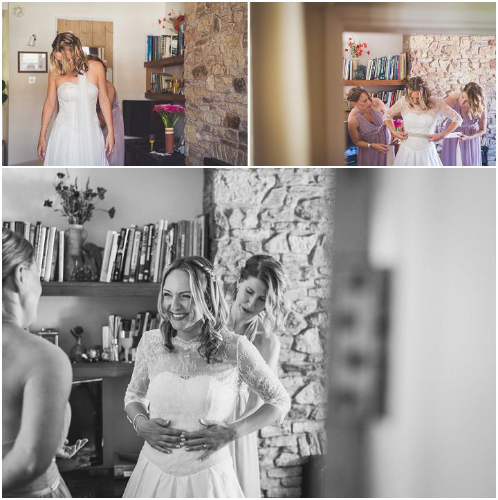 Jo and Rob's Natural and Rustic Homespun Devon Wedding by Lee Maxwell