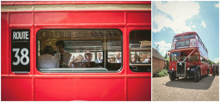 Nicola and Ryan's Pretty Peach and Copper Surrey Barn Wedding by Mr Sleeve Photography