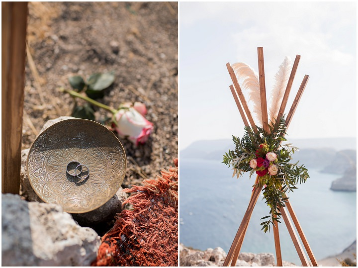 Julia and Stefan's Bohemain Spanish Cliff Top Wedding by Eloy Munuz and Anna Ambrosiewicz
