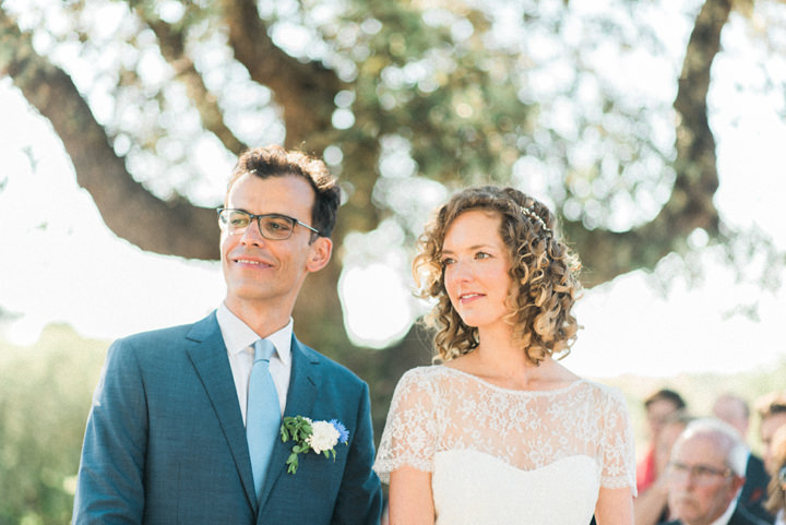 Josine and Daniel's Rustic Chic Outdoor Wedding in Portugal by Adriana Morais
