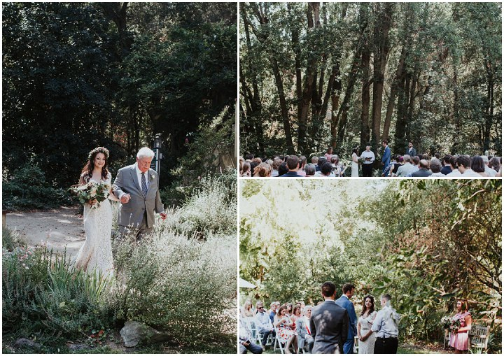 Megan and Jason's Flower Filled Rustic Farm Wedding in California by Alexandra Wallace and Grace Kathryn