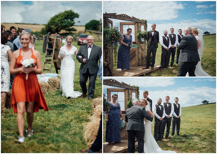 Catherine and Matthew's Gin Loving Cliff Top Wedding in Devon by Liberty Pearl Photography