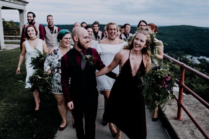 Melissa and Matt's Urban Industrial Fairy Tale Wedding in Pennsylvania By Cambria Creative