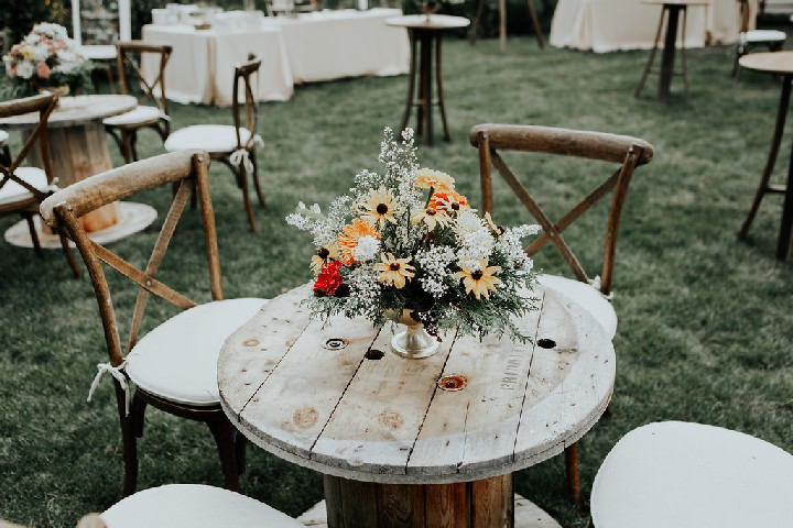 Aylin and Robert's Whimsical Al-Fesco Farm Wedding in the Canadian Outback by Todor Wedding Co