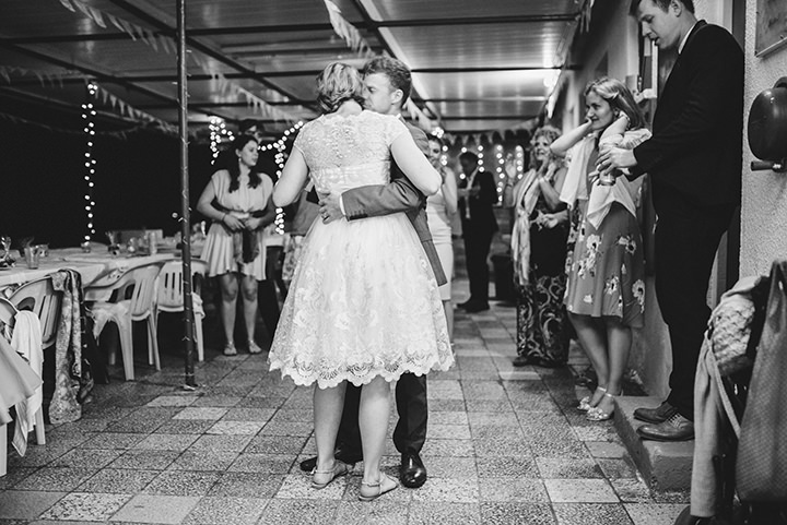 Lucy and Benjamin's Intimate Blue and Gold Cyprus Wedding by Dearly Beloved and Dom Moore