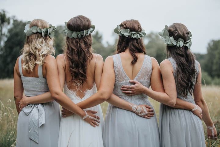 Nils and Jenni's Beautifully Simple DIY Bohemian Barn Wedding by Photo Design