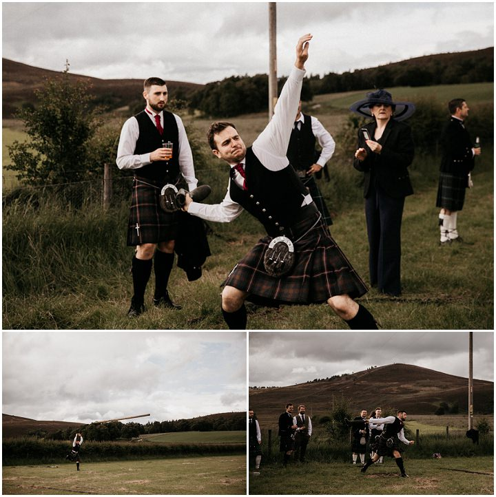 Chloe and Toby's Homespun Scottish Barn Wedding by Light of Wild