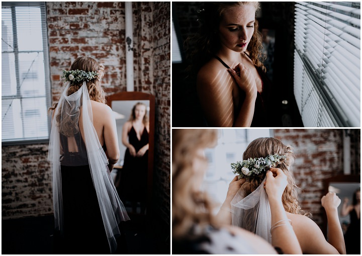 Melissa and Matt's Urban Industrial Fairy Tale Wedding in Pennsylvania By Cambria Creative