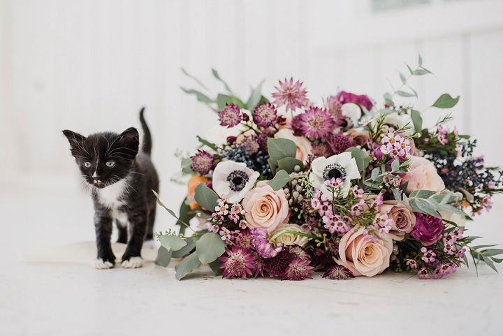 """The Purrfect Day"" Super Cute Kitten Wedding Inspiration"