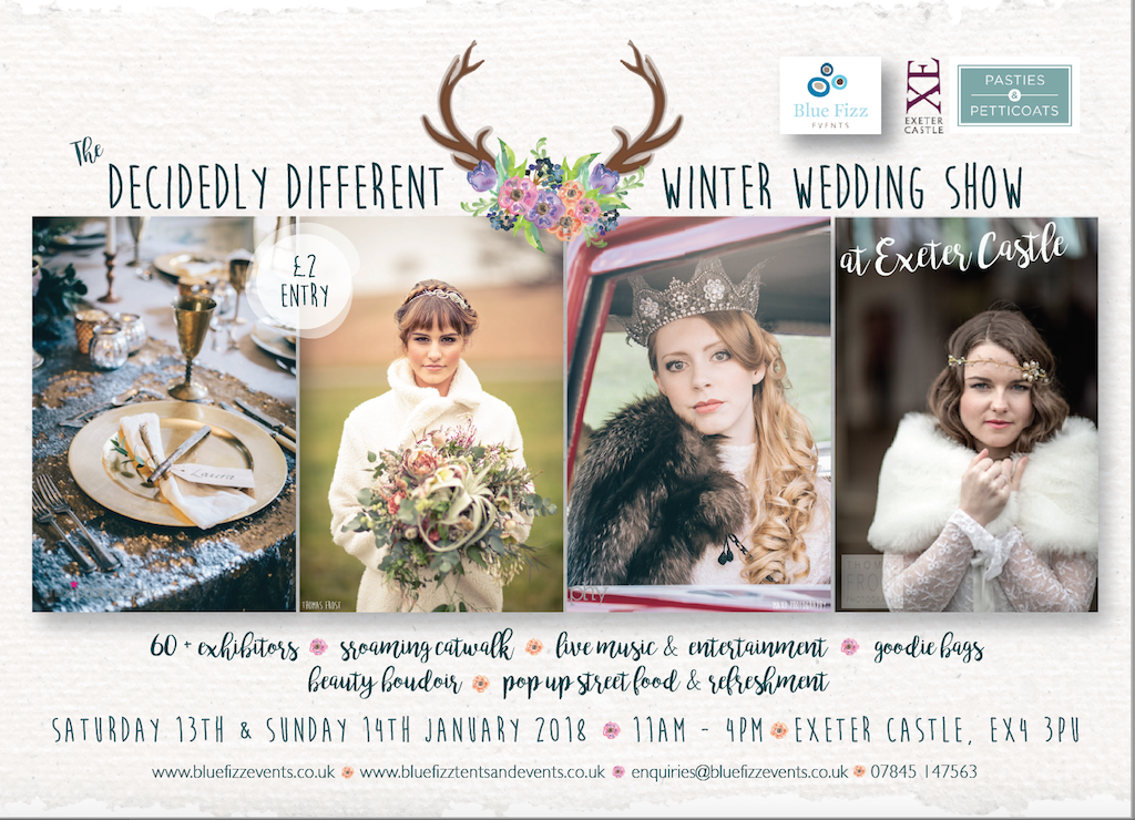 The Decidedly Different Winter Wedding Show at Exeter Castle