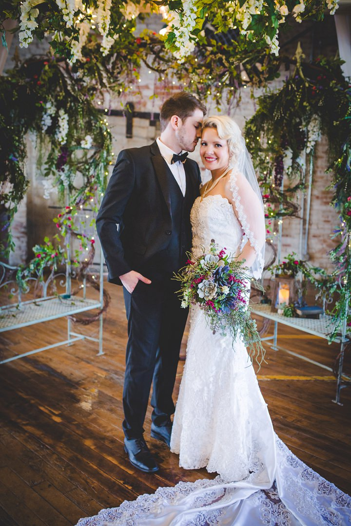 Our Dreamy Enchanted Forest Themed Wedding With The Homemade Dress Of My Dreams
