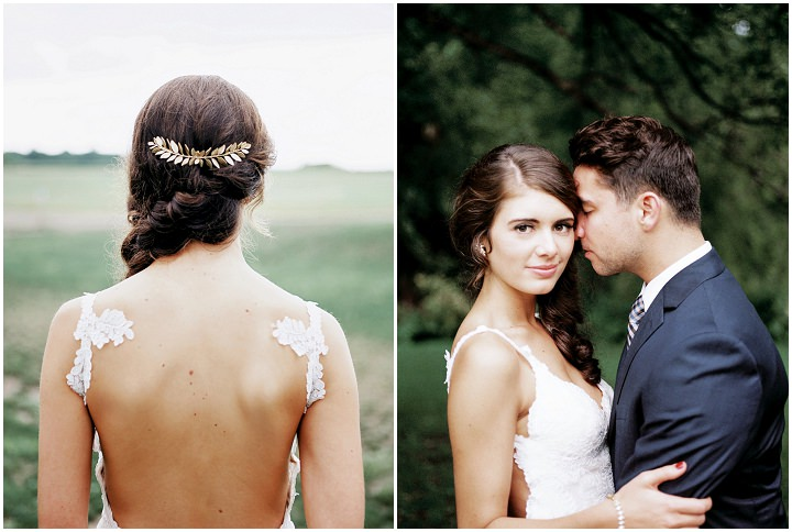 Julia and Corey's 'Rustic Elegance' Greenery Filled Barn Wedding in Minnesota by Marc Andreo