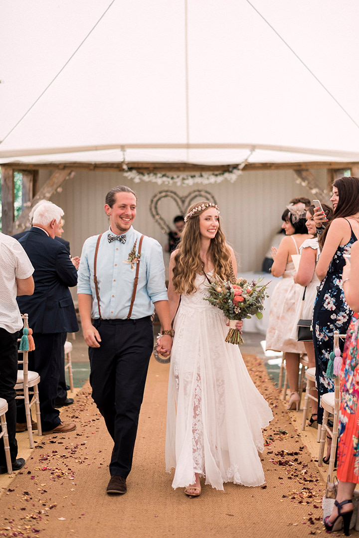 c53327b33e65 ... Jen and Adam's Australian Inspired Natural, Bohemian Wedding by Kathryn  Hopkins ...