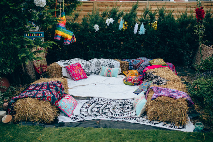Ross and Jade's Eclectic Home Garden Wedding all Planned in 8 Weeks by Samantha Kay Photography