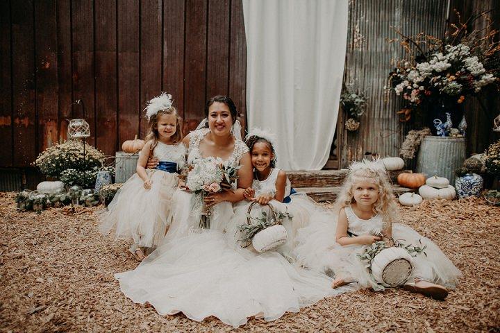 Leah and Quinten's Beautiful Backyard Boho Wedding in Georgia by Aline Marin Photography