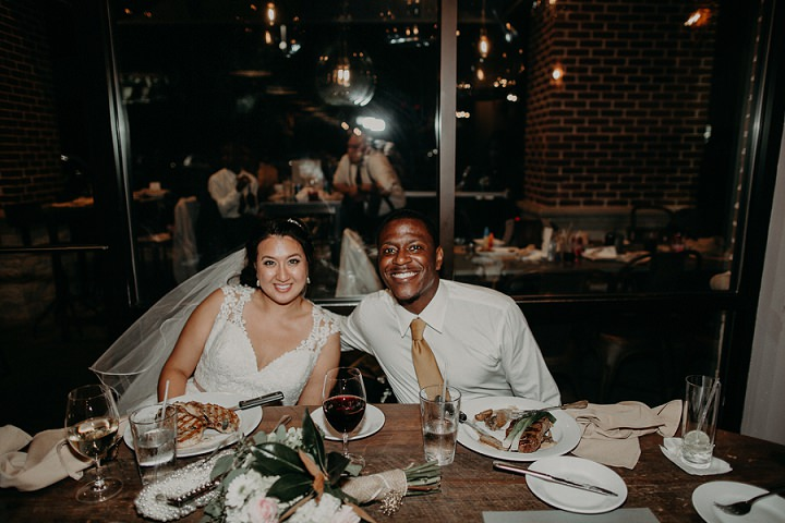 Leah and Quinten's Beautiful Backyard Boho Wedding in Georgia by Aline Marin Photography