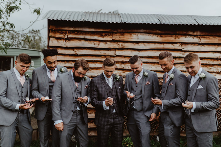 Aneta and Jack's DIY Rose Gold Wedding in York by Stevie Jay Photography