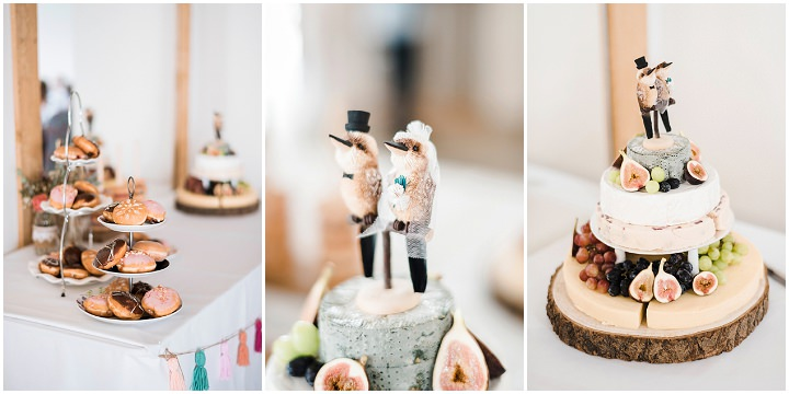 Jen and Adam's Australian Inspired Natural, Bohemian Wedding by Kathryn Hopkins