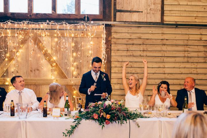 Chloe and Mark's Bright and Colourful, Curry Loving Farm Wedding by Nikki Vandermolen