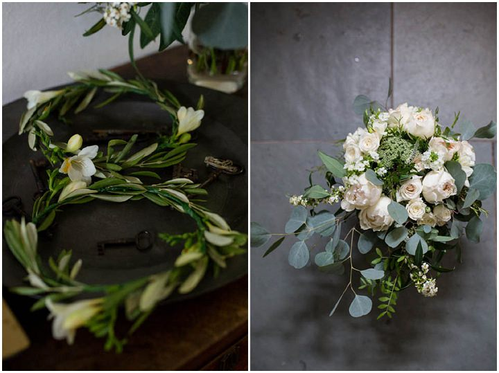 Julia and Ed's Coutry Themed Barn Wedding with Greenery, Hessian and Jam Jars by Nicola Gough