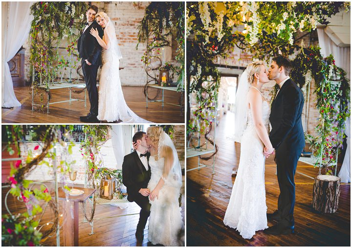 Hannah and Jaxon's Totally Enchanting Forest Themed Wedding by Priscilla K Photography