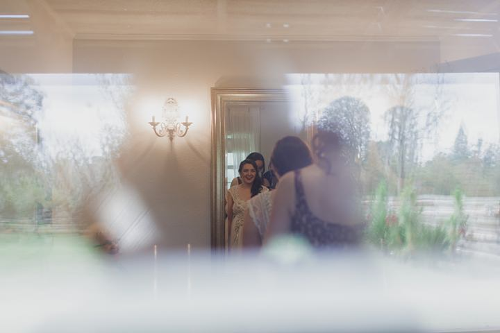 Abby and Aaron's 'Vintage Glam' Outdoor Rainy Florida Wedding by Stacy Paul Photography