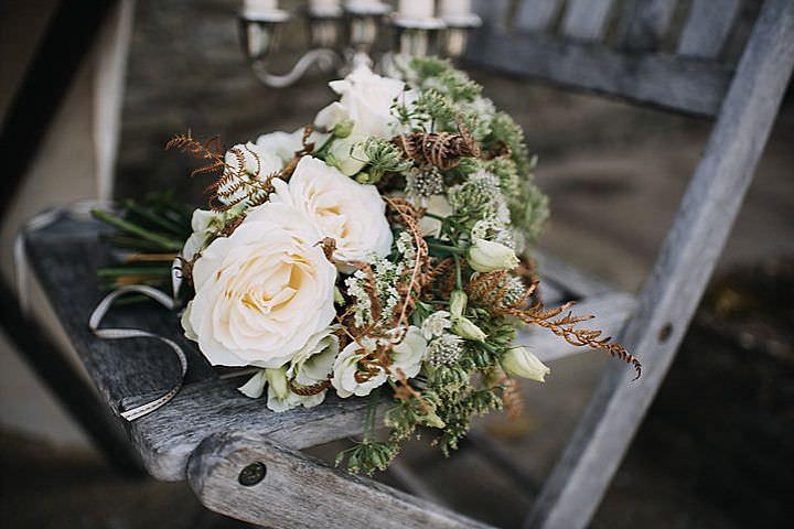 Hidden Rustic Woodland Barn Winter Wedding Inspiration