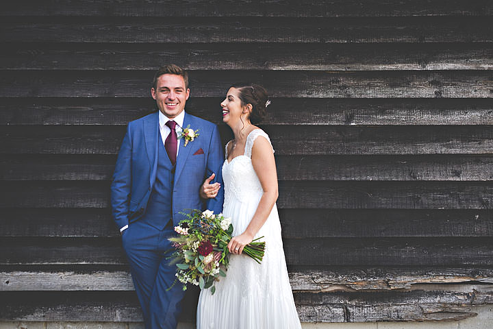 Charlie andMorgan's Gin and Tonic Themed Barn Wedding by Shootinghip