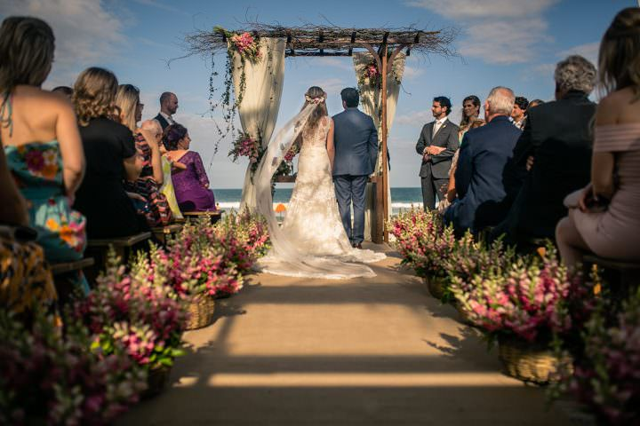 Pati and Piotr's 'Island of Magic' Boho Brazilian Beach Wedding by Fábio Azanha Photography