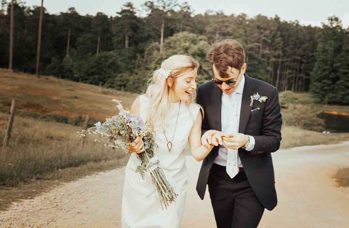 Allie and Andy's Labyrinth Wedding in Sunny Atlanta by Gianna Keiko