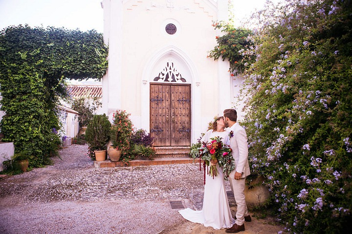 An Intimate Chapel Ceremony in Spain