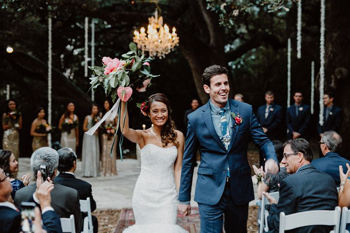 Phuong and Andy's Tropical Boho Glam Wedding by Lisa Woods Photography