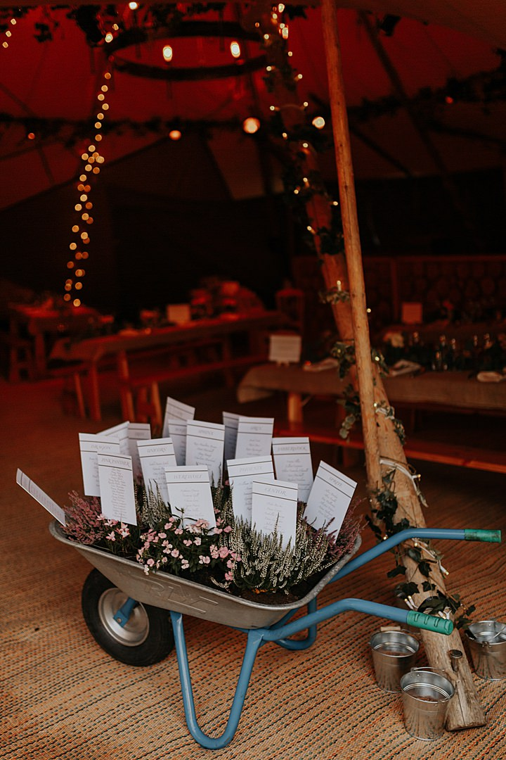 Isabel and Alastair's Gorgeous North Wales Tipi Wedding with