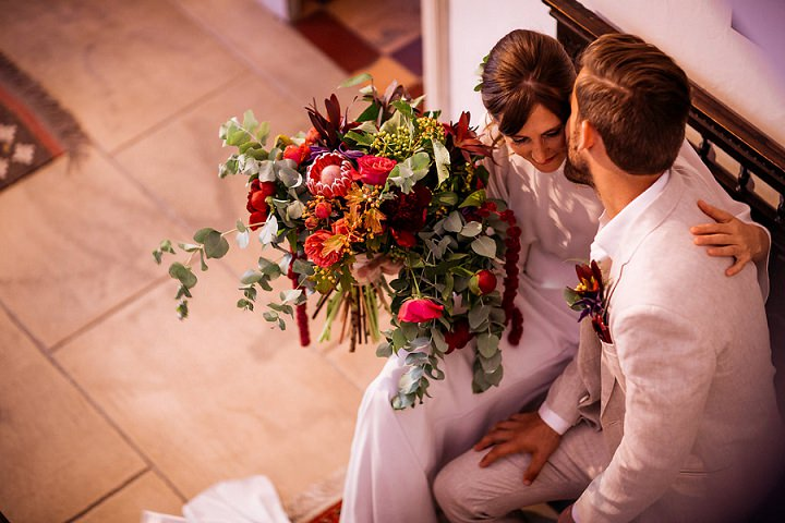 Kate and Camden's 'From Brooklyn to Spain' Intimate Outdoor Wedding by Roxanne Turpen Photography