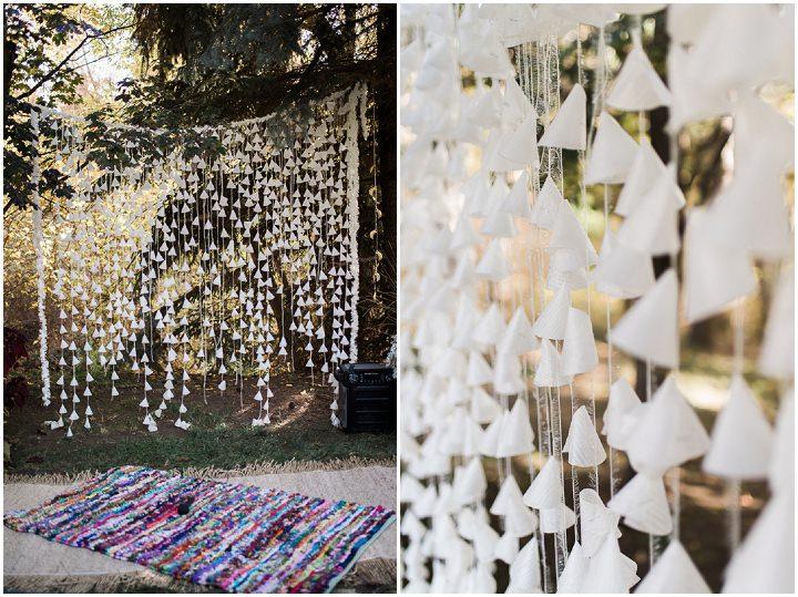 Alisha and Lance's Intimate Backyard Wedding by Meghan Hess Photography