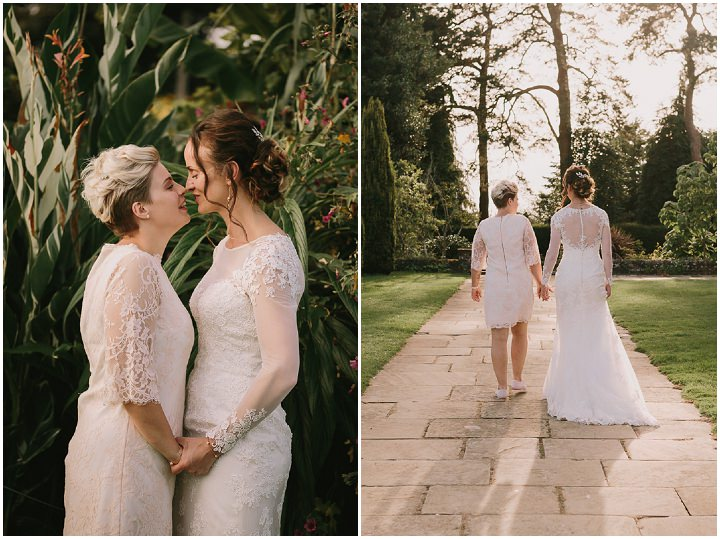 Alice and Laura's Pretty Pastel Casual Summer Garden Party Wedding by Catherine Carter Weddings